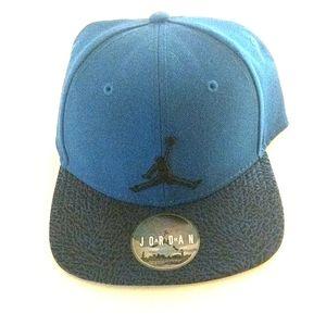 Michael Jordan Jumpman Blue adjustable hat NWT